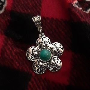 Silver/Turquoise Pendant